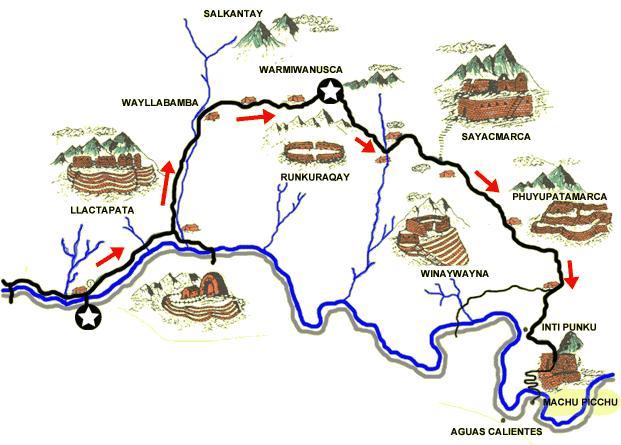 Inca trail boeken 4 dagen